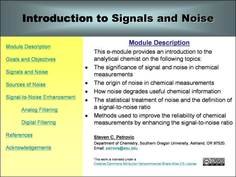 the signal and the noise pdf